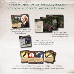Spielmaterial- Harry Potter: Kampf um Hogwarts - Die Monsterbox der Monster Erweiterung