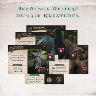 Dunkle Kreaturen Karten- Harry Potter: Kampf um Hogwarts - Die Monsterbox der Monster Erweiterung