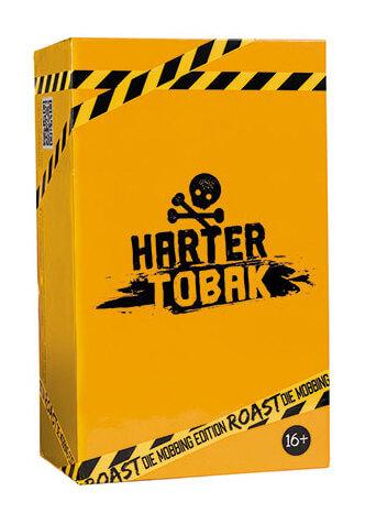 Schachtel Vorderseite- Harter Tobak Roast - Mobbing Edition