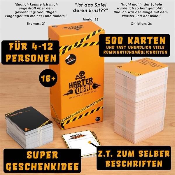 Spielmaterial- Harter Tobak Roast - Mobbing Edition