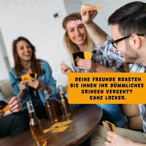 Spielszene- Harter Tobak Roast - Mobbing Edition