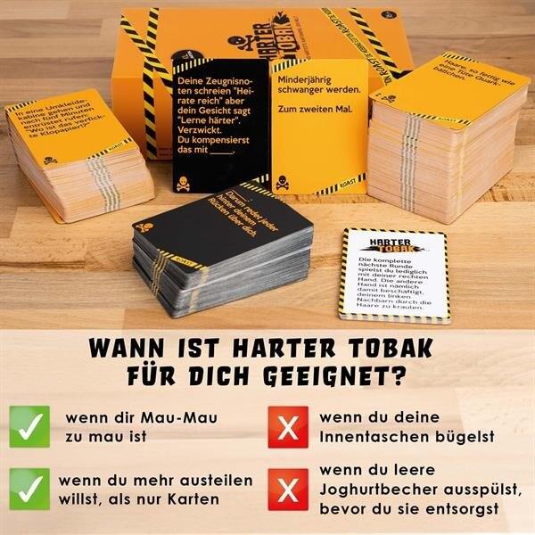 Spielbeschreibung- Harter Tobak Roast - Mobbing Edition