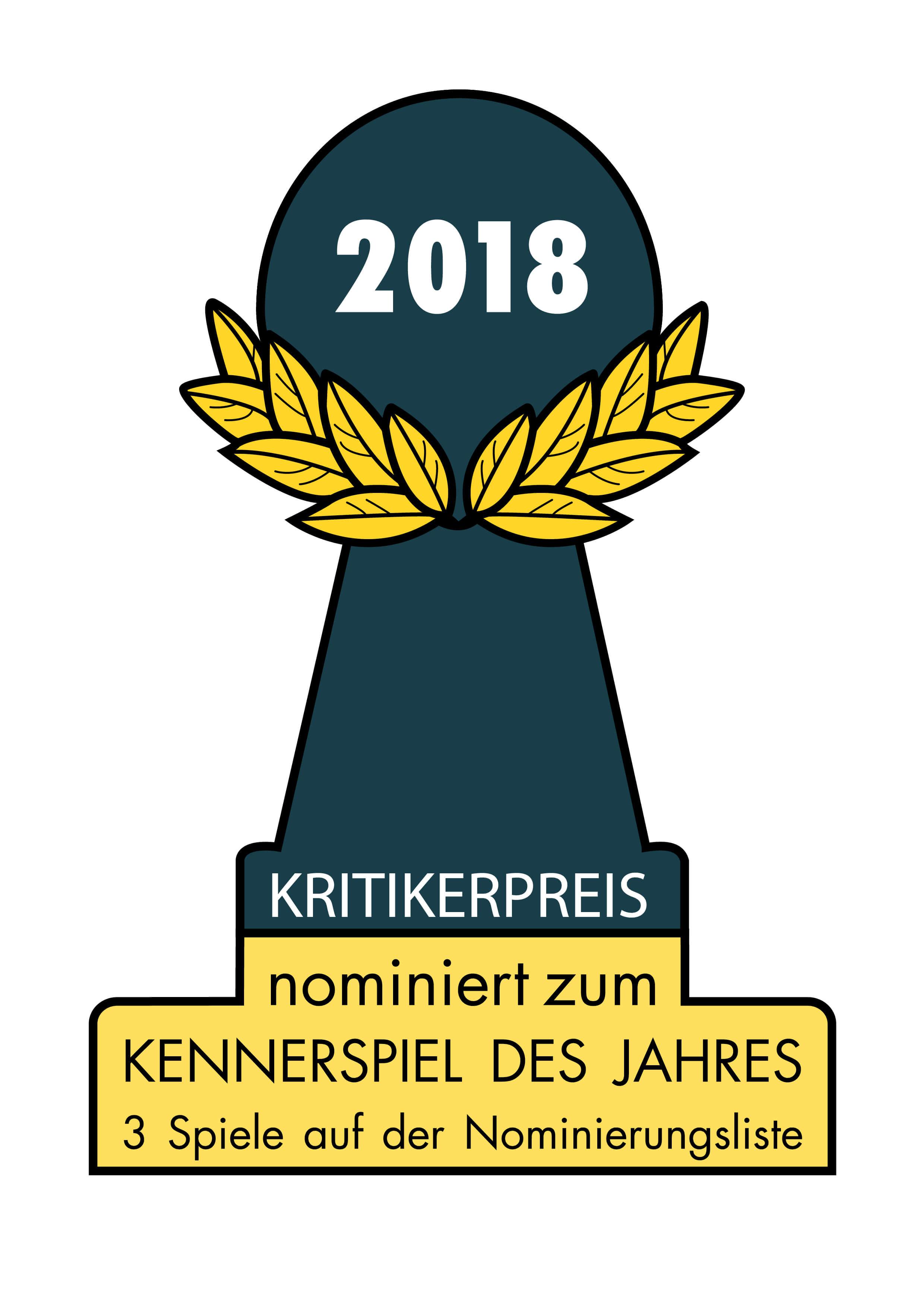 Nomination zum Kennerspiel des Jahres 2018- Heaven & Ale