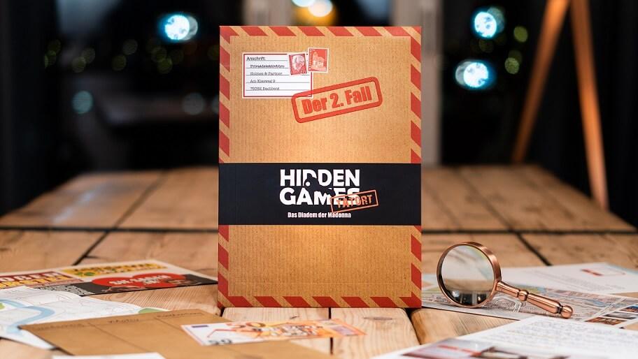 Schachtel Vorderseite- Hidden Games: Das Diadem der Madonna
