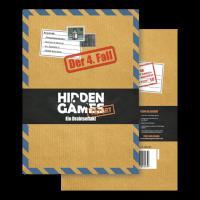 Schachtel Vorderseite - Hidden Games: Ein Drahtseilakt