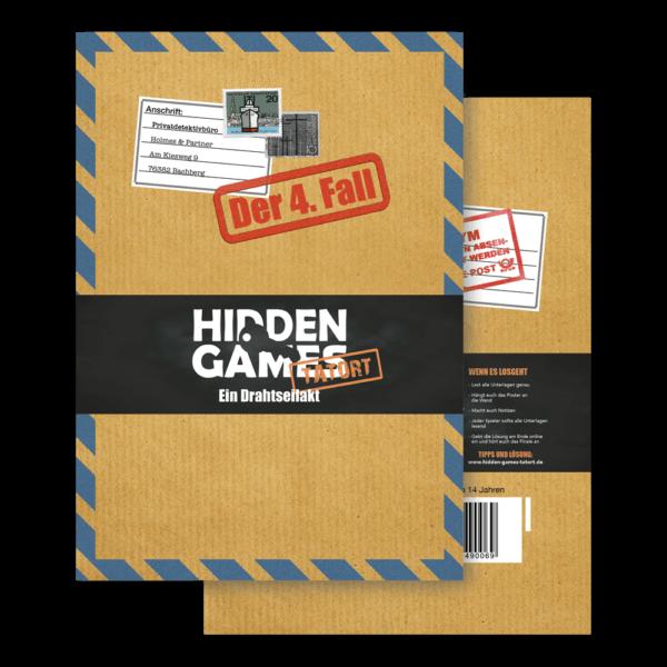 Schachtel Vorderseite- Hidden Games: Ein Drahtseilakt
