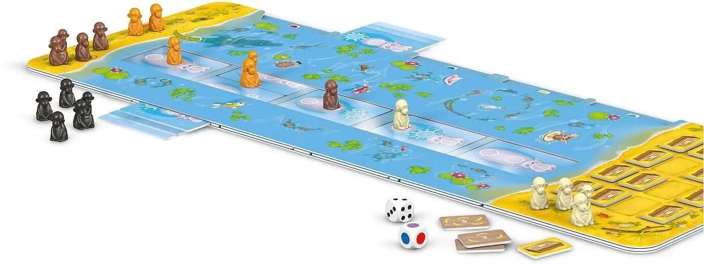 Spielmaterial - nominiert zum Kinderspiel 2021- Hipp Hopp Hippo