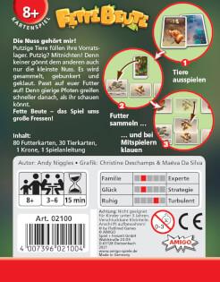 Schachtel Rückseite- Fette Beute