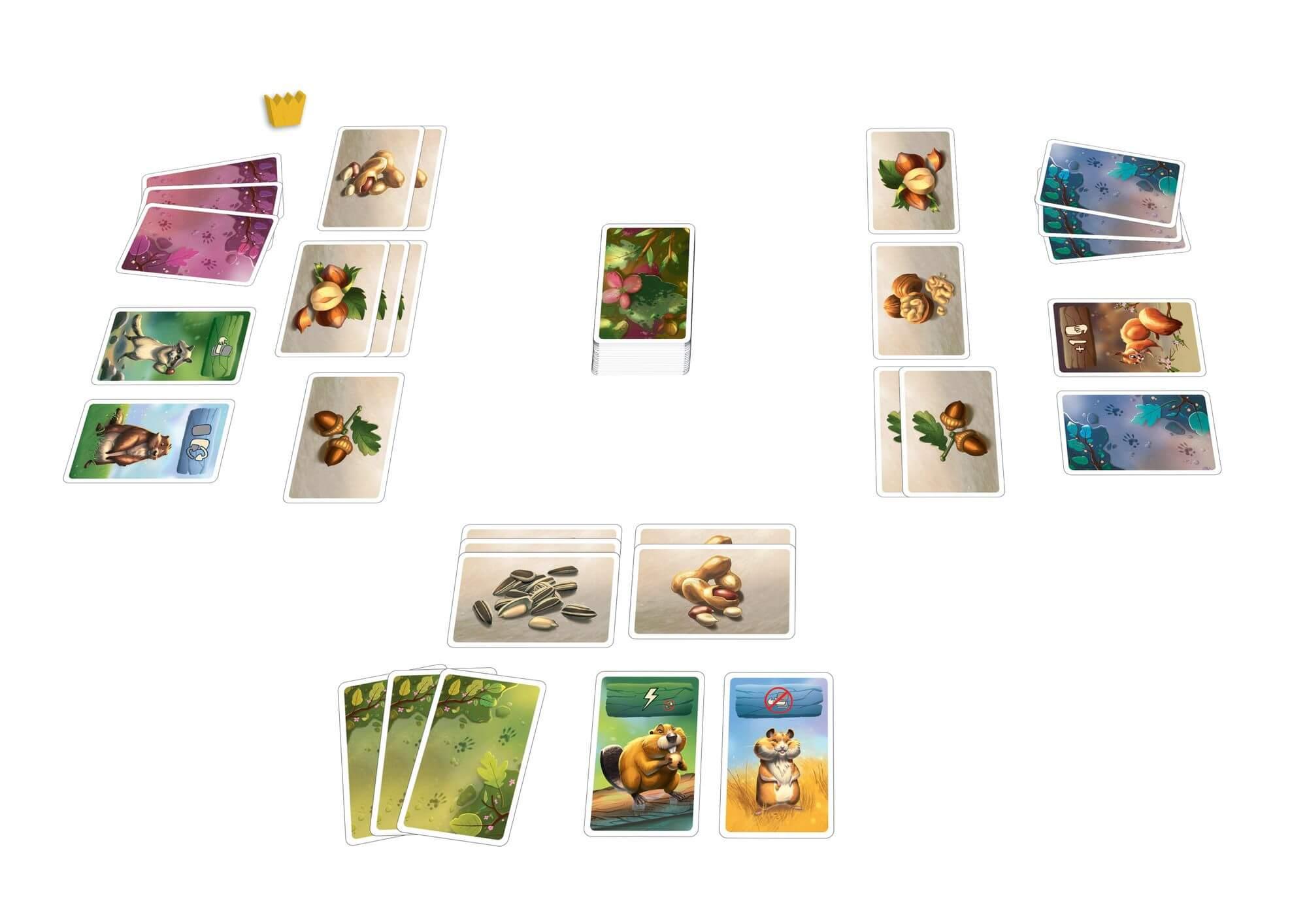 Spielkarten- Fette Beute