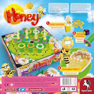 Schachtel Rückseite- Honey