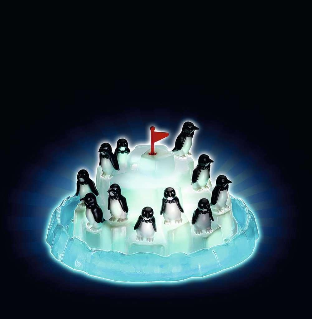 Leuchtendes Spielmaterial- Plitsch-Platsch Pinguin