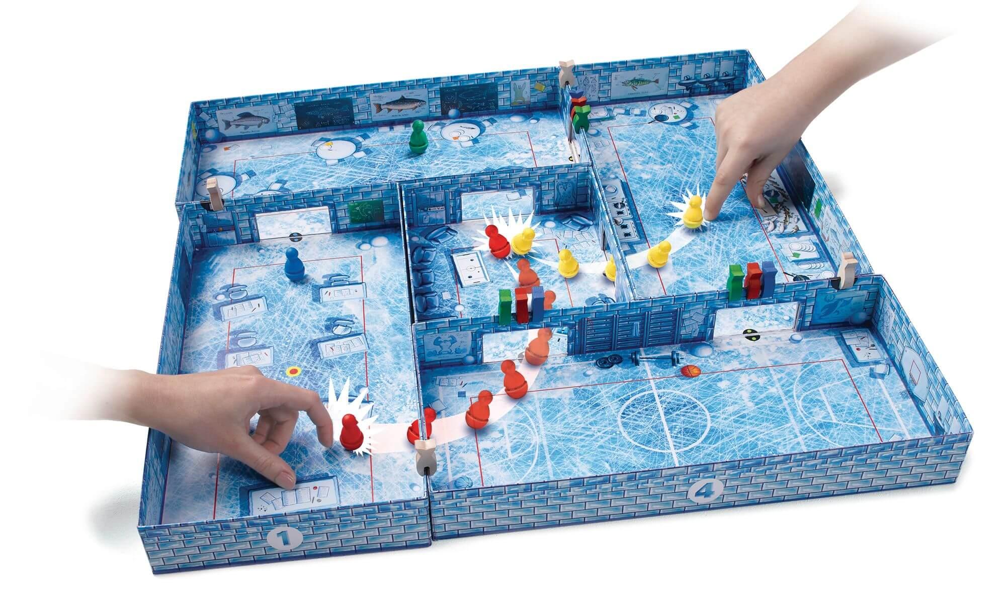 Spielmaterial - Kinderspiel des Jahres 2017- ICECOOL
