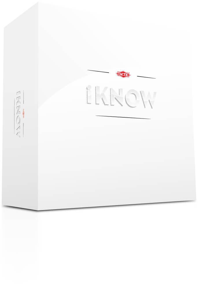 Schachtel Vorderseite- iKNOW