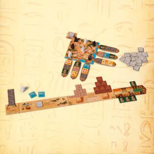Spielmaterial- Imhotep - Das Duell