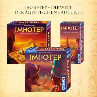 Mehrere Spiele- Imhotep - Das Duell