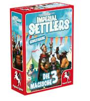 Schachtel Vorderseite links - Imperial Settlers - Die magische 3