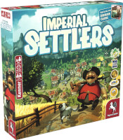 Schachtel Vorderseite links - Imperial Settlers