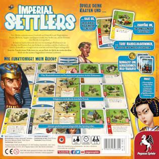 Schachtel Rückseite- Imperial Settlers