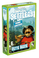 Schachtel Vorderseite links - Imperial Settlers: Fette Beute