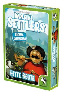 Schachtel Vorderseite rechts- Imperial Settlers: Fette Beute