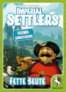 Schachtel Vorderseite- Imperial Settlers: Fette Beute