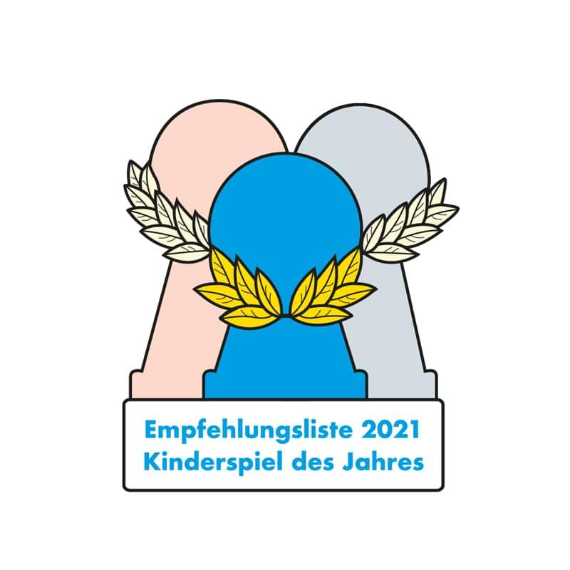 Empfehlungsliste 2021  - empfohlen zum Kinderspiel 2021- Inspektor Nase