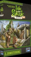 Schachtel Vorderseite, linke Seite - Isle of Skye - Druiden