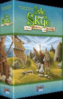 Schachtel Vorderseite, linke Seite - Kennerspiel des Jahres 2016 - Isle of Skye