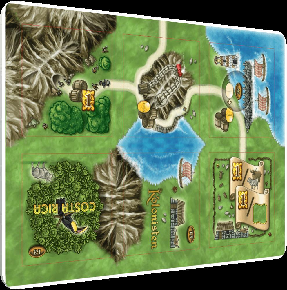 Spielplan - Kennerspiel des Jahres 2016- Isle of Skye