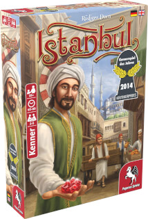 Schachtel Vorderseite links- Istanbul