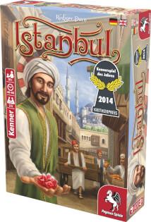 Schachtel Vorderseite rechts- Istanbul