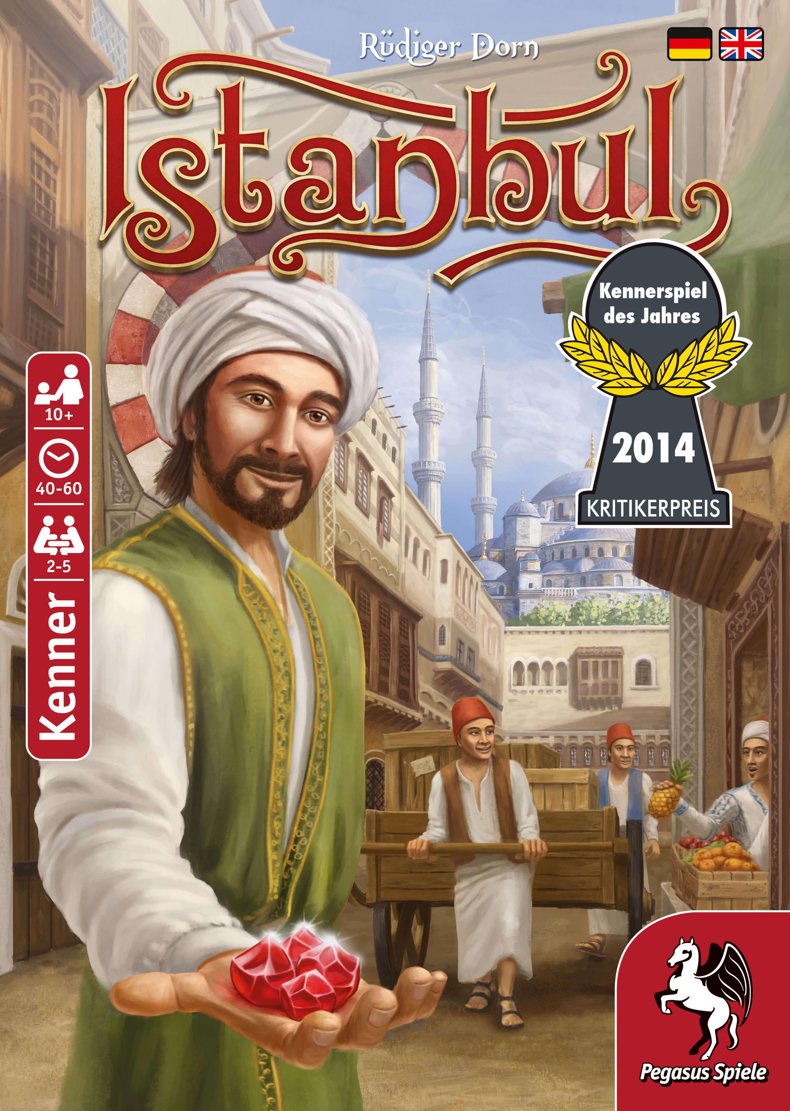 Schachtel Vorderseite- Istanbul