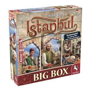 Schachtel Vorderseite links- Istanbul Big Box