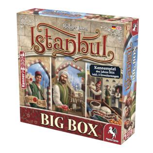 Schachtel Vorderseite rechts- Istanbul Big Box
