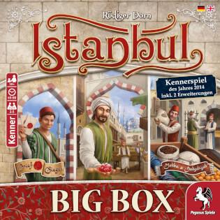 Schachtel Vorderseite- Istanbul Big Box