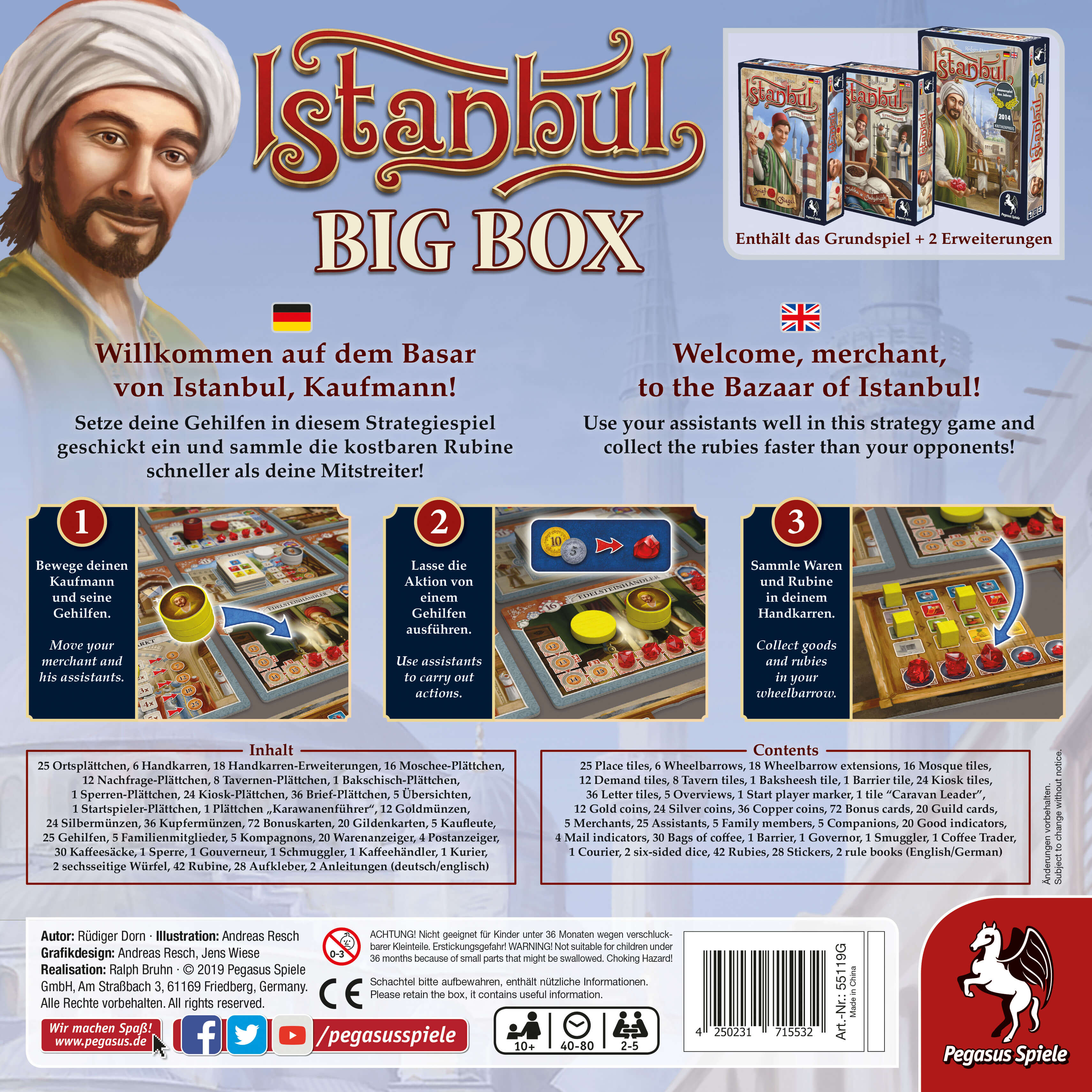 Schachtel Rückseite- Istanbul Big Box