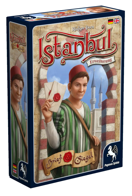 Schachtel Vorderseite links- Istanbul: Letters & Seals