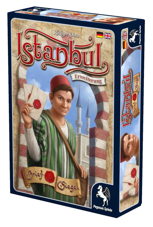 Schachtel Vorderseite rechts- Istanbul: Letters & Seals