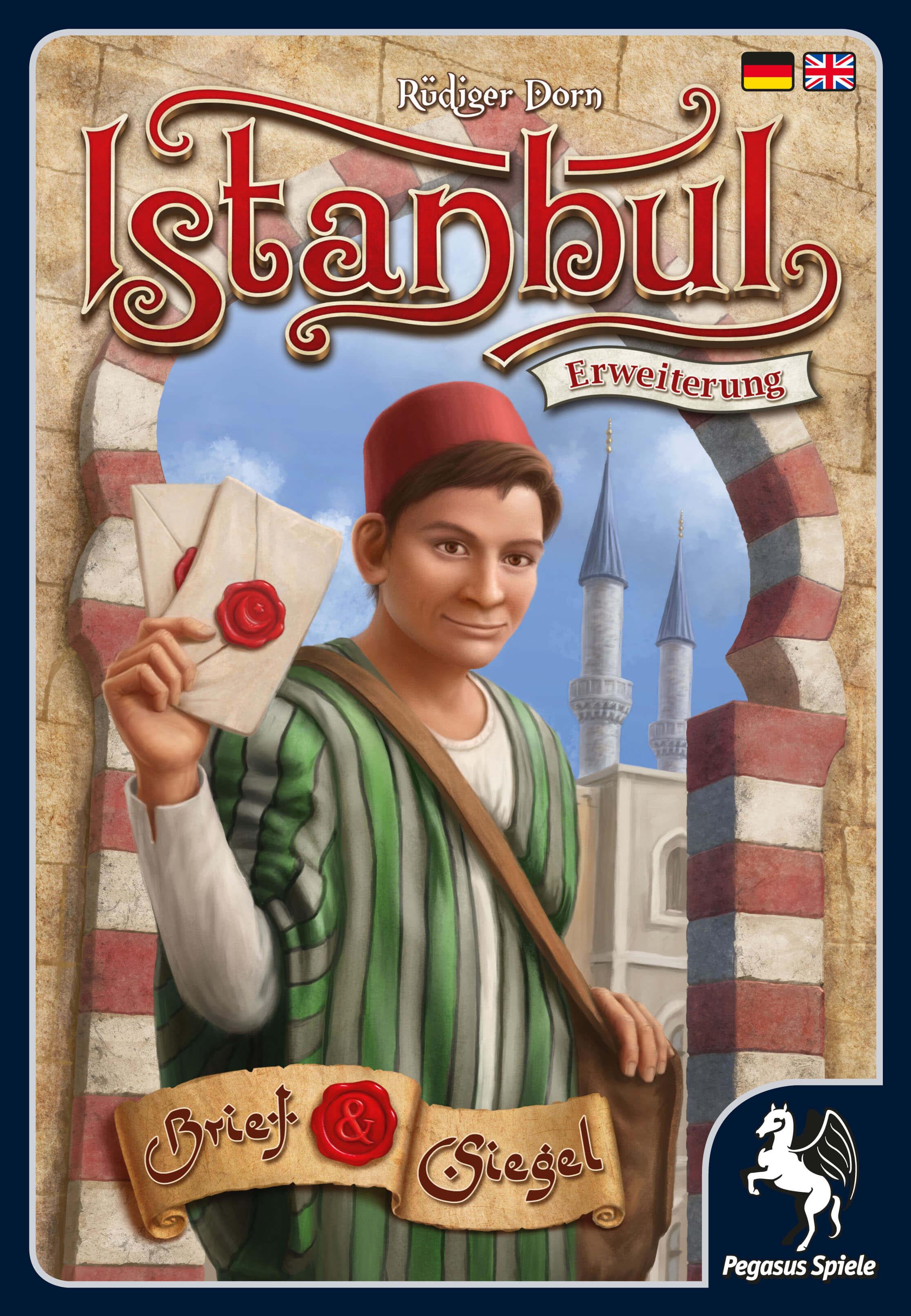 Schachtel Vorderseite- Istanbul: Letters & Seals