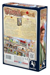 Schachtel Rückseite- Istanbul: Brief & Siegel