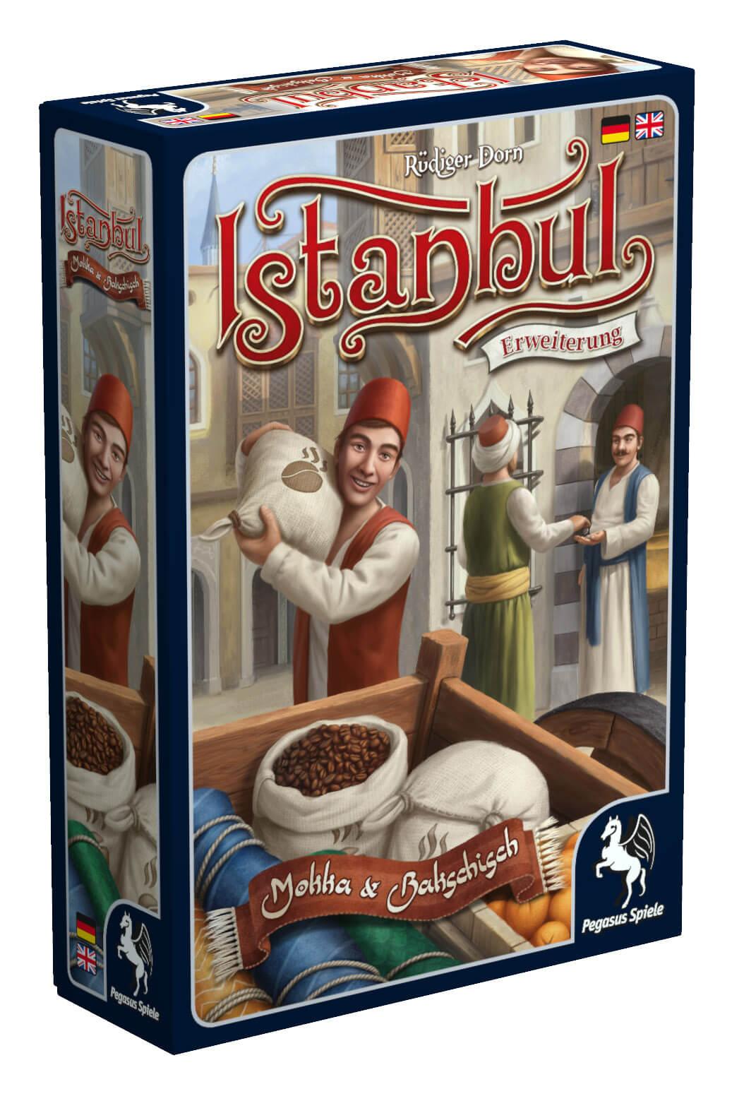 Schachtel Vorderseite links- Istanbul: Mocha & Baksheesh