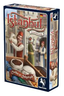 Schachtel Vorderseite rechts- Istanbul: Mokka & Bakschisch