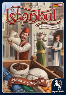 Schachtel Vorderseite- Istanbul: Mokka & Bakschisch