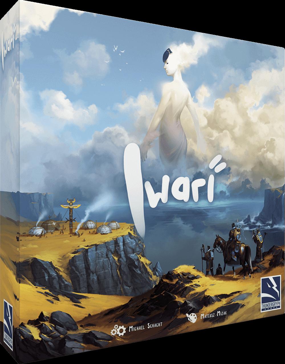 Schachtel Vorderseite- Iwari