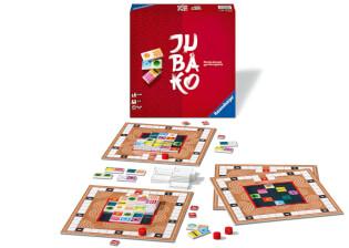 Spielmaterial und Spielschachtel- Jubako