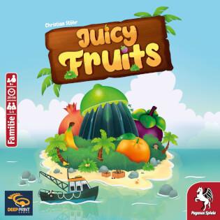 Schachtel Vorderseite- Juicy Fruits