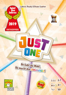 Cover - Spiel des Jahres 2019- Just One