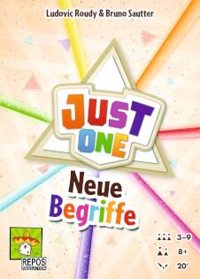 Just one Cover -  - Erweiterung Spiel des Jahres 2019- Just One - Neue Begriffe