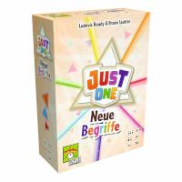 Schachtel Vorderseite - Erweiterung Spiel des Jahres 2019 - Just One - Neue Begriffe