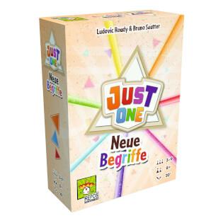 Schachtel Vorderseite - Erweiterung Spiel des Jahres 2019- Just One - Neue Begriffe